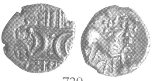 CCI-991955: An Iron Age Unit from NULL of Ece(n) Iceni Celtic Coin Index reference:  99.1955