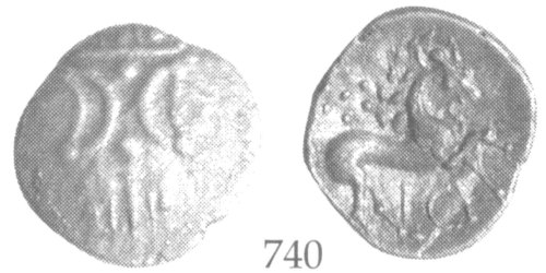 CCI-991956: An Iron Age Unit from NULL of Ece(n) Iceni Celtic Coin Index reference:  99.1956