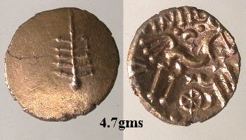 A resized image of An Iron Age Gold stater from NULL of Anted Dobunni Celtic Coin Index reference:  99.1704