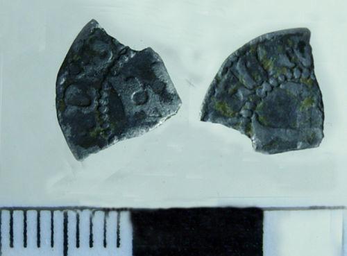BERK-4F6391: Medieval Coin: Danish farthing of Eric of Pommerania