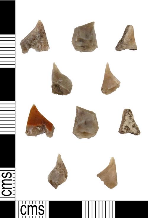 DUR-3C07D8: DUR-3C07D8 : Debitage : Mesolithic