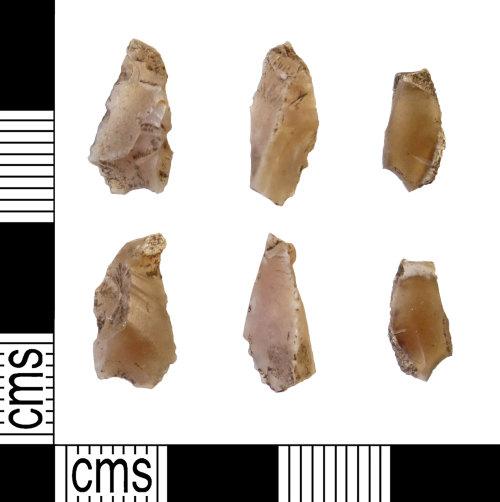 DUR-CBF3BA: DUR-CBF3BA : Debitage : Mesolithic