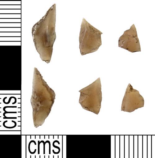 DUR-CC4C38: DUR-CC4C38 : Debitage : Mesolithic