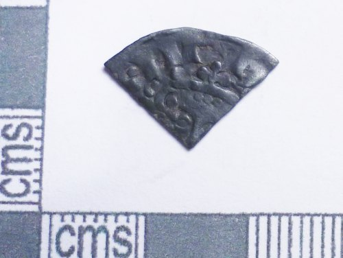 PUBLIC-2EC565: Medieval coin: Cut farthing of Henry III (obverse)