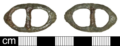 SOM-A42CC2: Post Medieval Buckle