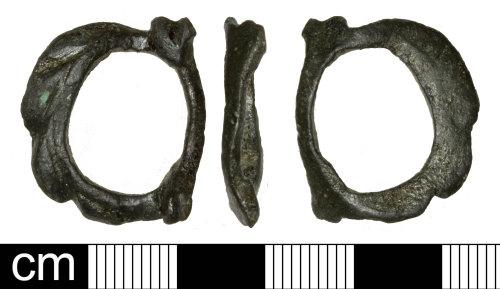SOM-A45AF2: Post Medieval Buckle