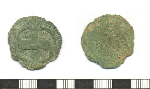ESS-69D233: Late medieval copper alloy mount