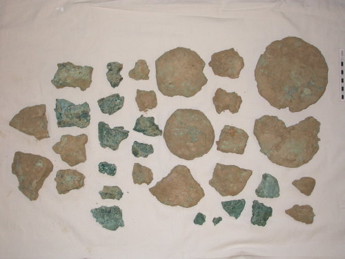 ESS-356856: Late Bronze Age hoard with complete and fragmentary copper ingots