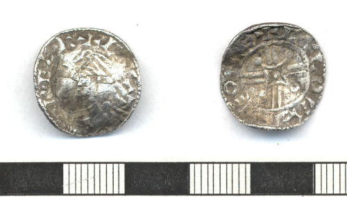 ESS-0703A1: 'posthumous' penny of Cnut or issue of Harthacnut