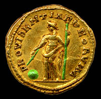 Details of Providentia personified - A guide to the coins of the ...