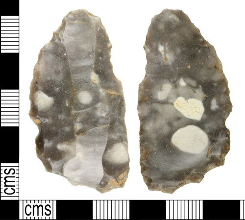 WILT-B37C06: Neolithic or Bronze Age flake