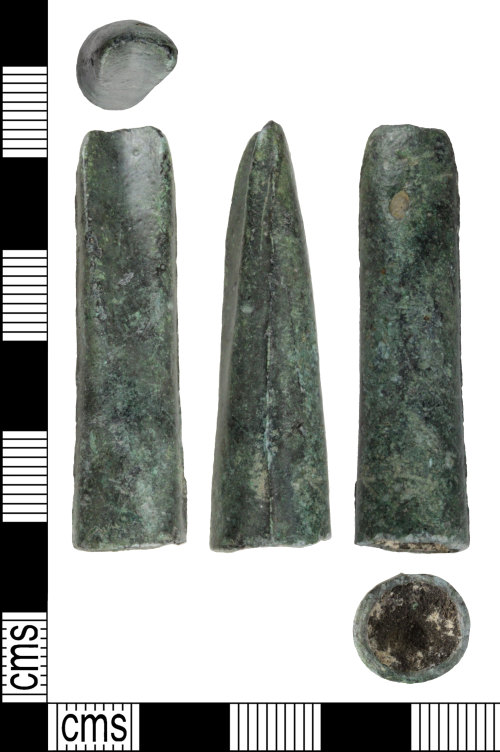 WILT-FF82BC: Bronze Age socketed gouge