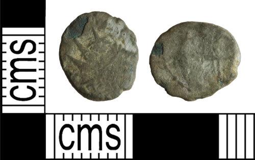 WILT-E7B8DC: Roman coin: barbarous radiate