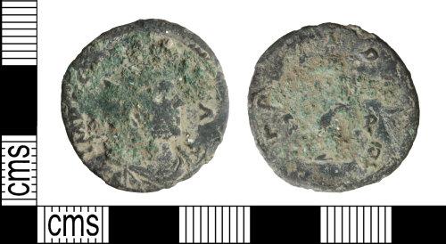 WILT-1283C9: Roman coin: Carasius radiate