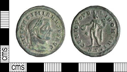 WILT-FE1E24: Roman coin: Maximian nummus
