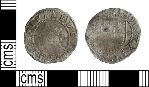WILT-D23678: Post-medieval coin: Elizabeth I penny