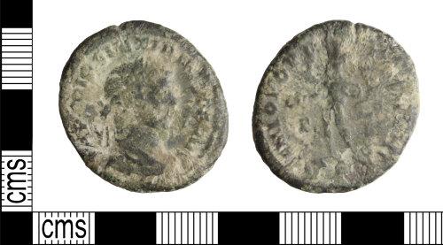 WILT-6222C9: Roman coin: Domitian nummus