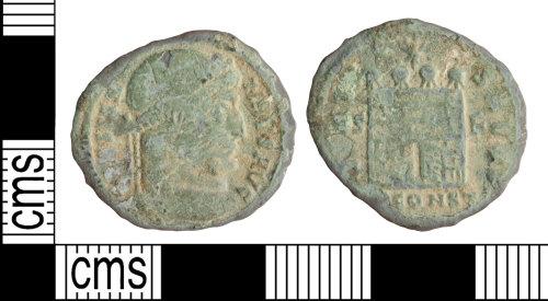 WILT-B2D13A: Roman coin: Constantine I nummus