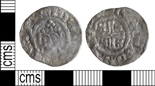 WILT-3E2E27: Medieval coin: John I penny
