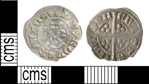 WILT-8A7A1A: Medieval coin: Henry III penny