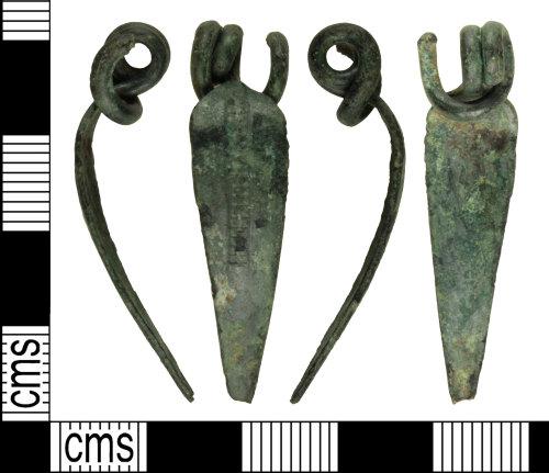 WILT-08E48F: Iron Age La Tene type brooch