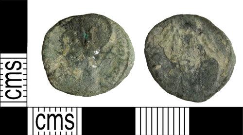 WILT-FC89C4: Roman coin: House of Constantine nummus