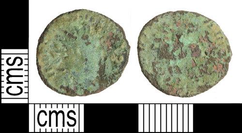 WILT-89F4EB: Roman coin: Carausius radiate