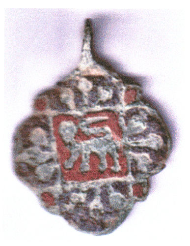 A resized image of Medieval: Harness pendant