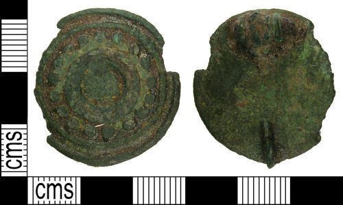 LANCUM-01D806: Early Roman disc brooch