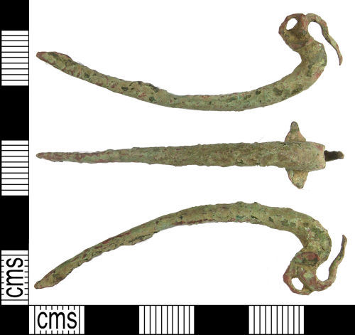 LANCUM-016786: Late Iron Age Colchester Type brooch