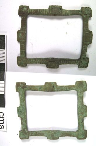 LANCUM-52F907: Post- medieval buckle frame(obv., rev.)