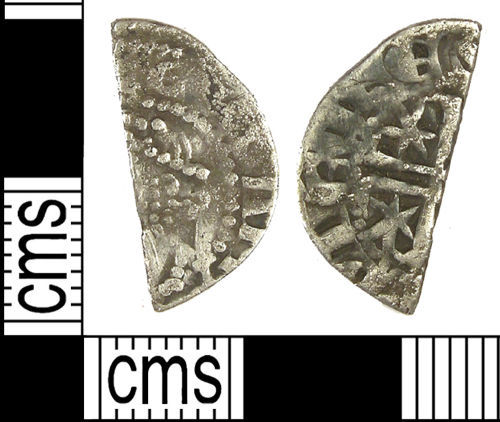 LANCUM-CD68D5: Medieval silver cut halfpenny probably of Alexander II
