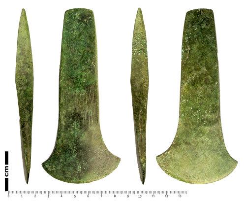 LANCUM-2BE374: Developed flat axe