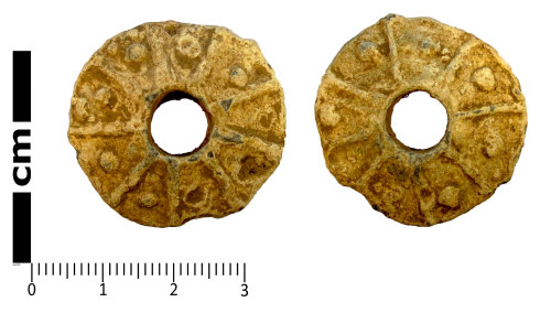 LANCUM-2C5969: Weight, probably a spindle whorl