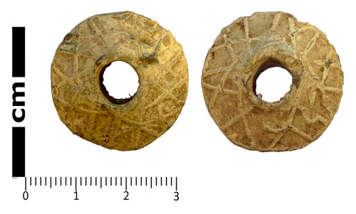 LANCUM-2C75AC: Weight, probably a spindle whorl