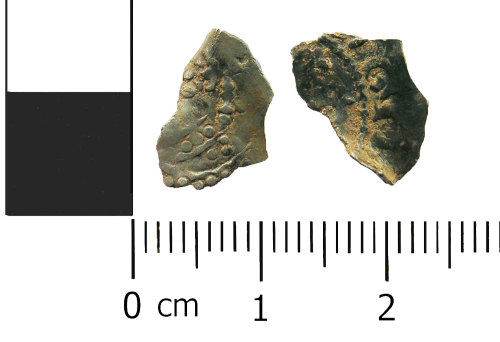 LANCUM-3A434A: Medieval coin: penny fragment of Henry I