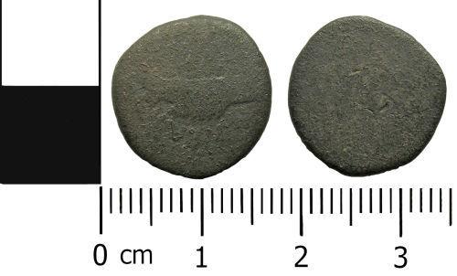LANCUM-87BC43: romanrepublicandenariusmarcusantonius