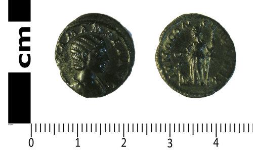 LANCUM-8EE1A4: Late Roman coin: Denarius of Julia Mamaea