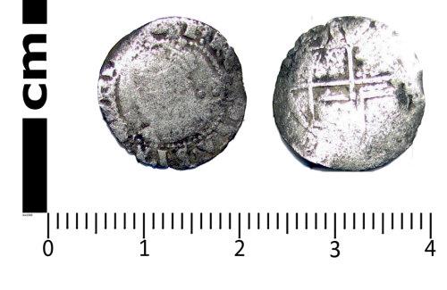 A resized image of Post-medieval coin: Halfgroat of Elizabeth I