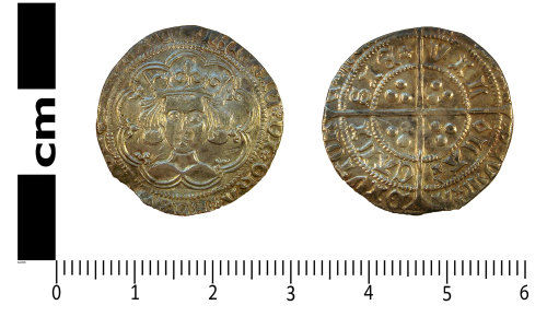LANCUM-9C3A45: Medieval coin: Groat of Henry VI