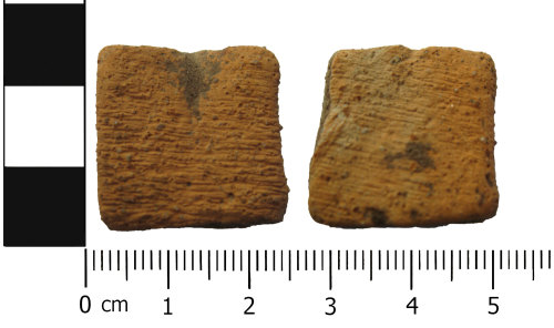 A resized image of Possibly a prehistoric ceramic vessel fragment