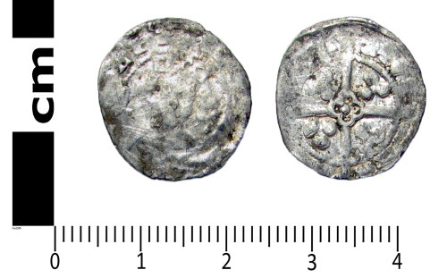 A resized image of Medieval coin: Penny of Edward III