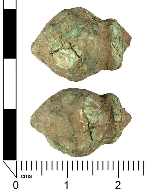 LANCUM-D2CD34: Crossbow brooch fragment