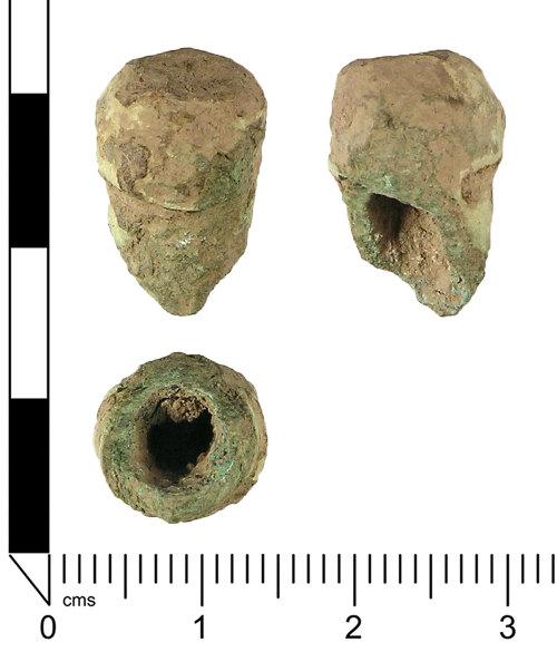 LANCUM-D2CFB1: Crossbow brooch fragment (possibly)