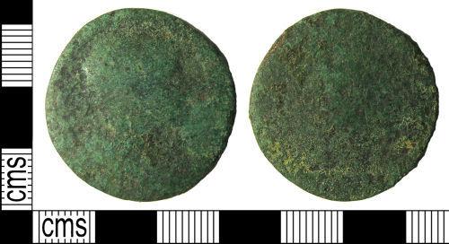 LANCUM-12D385: Early Roman as or dupondius of Trajan