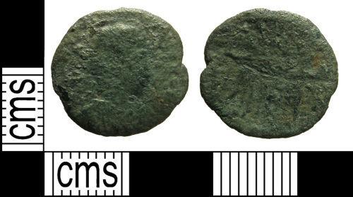 LANCUM-5CC163: Roman coin: Nummus of the House of Constantine