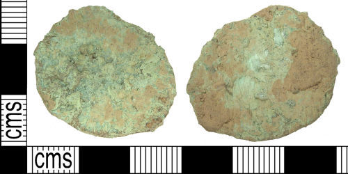 LANCUM-A07A86: LANCUM-A07A86: Early Roman as or dupondius, ruler illegible