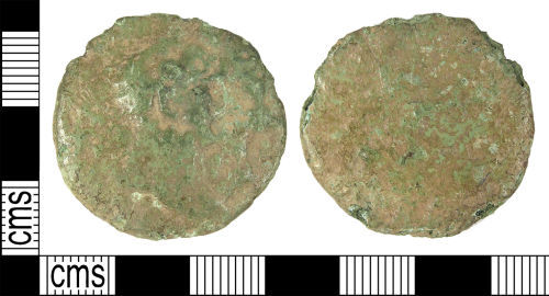 A resized image of LANCUM-A0CEE6: Early Roman sestertius of Trajan