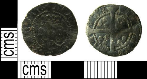 LANCUM-D57F76: Medieval coin: Penny of Henry V