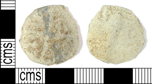 LANCUM-FED5E5: LANCUM-FED5E5: Post-medieval or early modern lead-alloy token